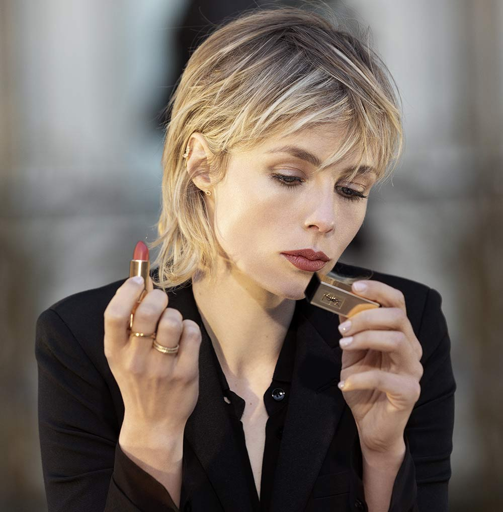 Rouge Pur Couture Rossetti YSL Edie Campbell